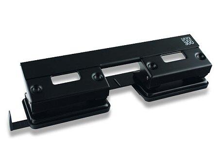 Obrázek produktu Čtyřděrová děrovačka SAX 300 - na 15 listů, černá