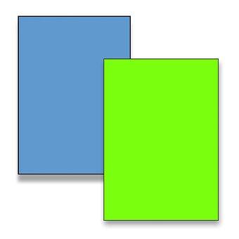 Obrázek produktu Barevné samolepicí etikety Rayfilm Color - 210 x 297 mm, 100 etiket, výběr barev