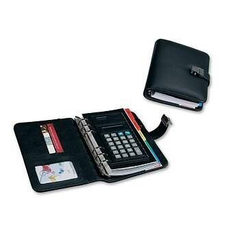 Obrázek produktu NORA - organizér z imitace kůže s kalkulačkou, černá
