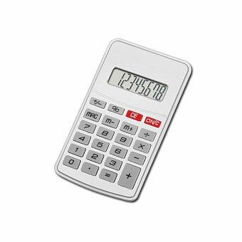 Obrázek produktu JASPER - kalkulačka s 8místným displejem, stříbrná