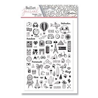 Obrázek produktu Razítka Stampo Bullet Aladine - Cestování - 81 ks