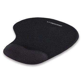 Obrázek produktu Gelová podložka pod myš Esperanza - černá