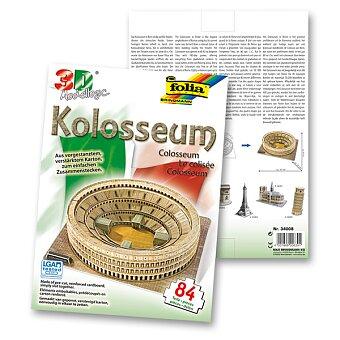 Obrázek produktu 3D stavebnice Folia - Kolosseum - Řím - 84 dílků