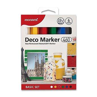 Obrázek produktu Popisovače Monami Deco Marker 463 - Basic set