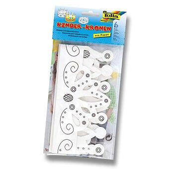 Obrázek produktu Papírové korunky k dotvoření - 6 kusů