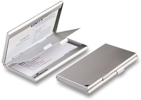 Obrázek produktu Vizitkář Durable - na 2 x 10 vizitek, stříbrný