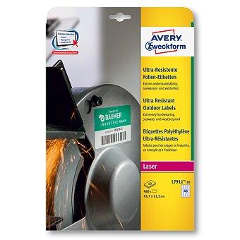 Obrázek produktu Bílé ultra odolné etikety Avery Zweckform - 10 archů A4, výběr rozměrů