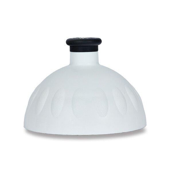 Kompletní víčko Zdravá lahev bílé/ černá zátka