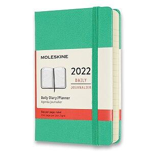 Diář Moleskine 2022 - tvrdé desky