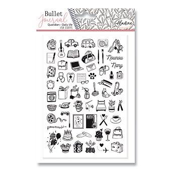 Obrázek produktu Razítka Stampo Bullet Aladine - Můj den, 59 ks