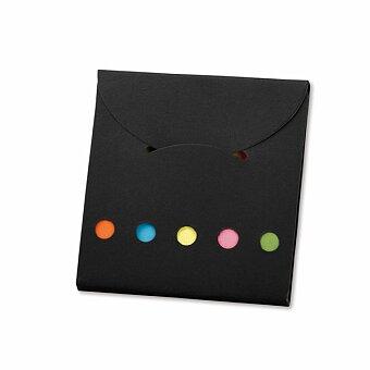 Obrázek produktu DEVITO - barevné lepicí papírky v papírovém obalu, výběr barev
