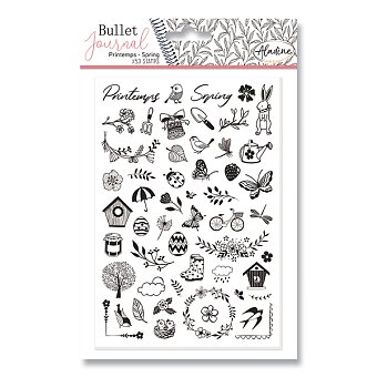 Obrázek produktu Razítka Stampo Bullet Aladine - Jaro, 53 ks