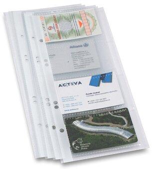 Obrázek produktu List do 4kroužkového vizitkáře, 10 ks - na 8 vizitek