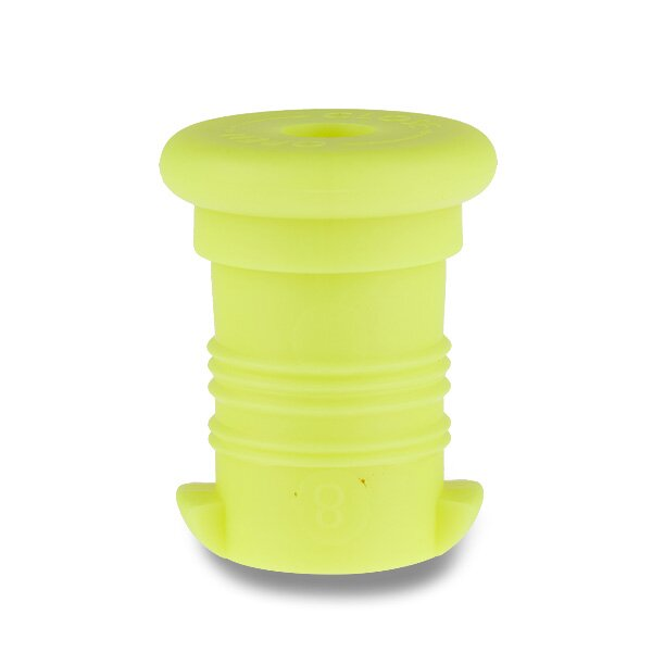 Zátka na Zdravou lahev žlutá reflexní