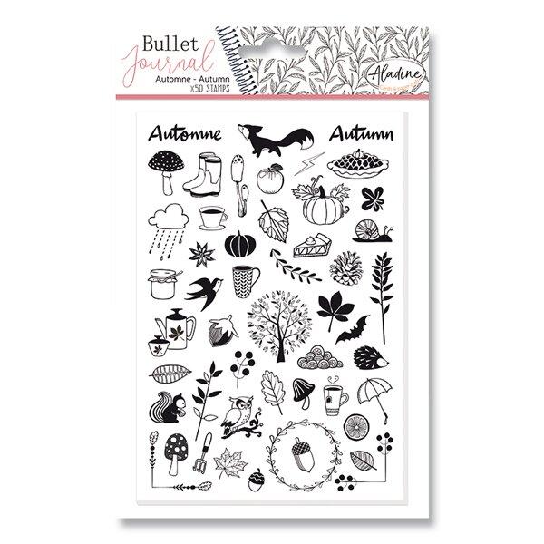 Razítka Stampo Bullet Aladine Podzim, 50 ks