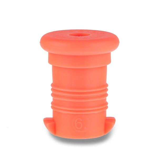 Zátka na Zdravou lahev oranžová fluo