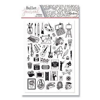 Obrázek produktu Razítka Stampo Bullet Aladine - Koníčky, 46 ks
