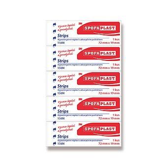 Obrázek produktu Textilní náplast 3M Spofaplast - 72 x 19 mm, 5 ks