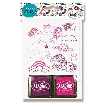 Obrázek produktu Razítka ALADINE Stampo Story - Jednorožci