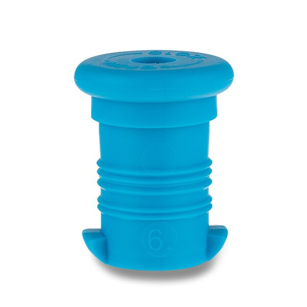 Zátka na Zdravou lahev modrá fluo