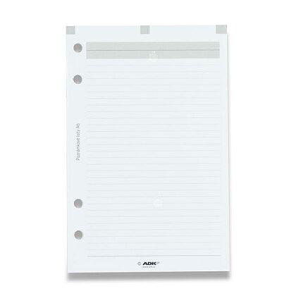 Obrázek produktu ADK - poznámkové listy - A6, 25 listů