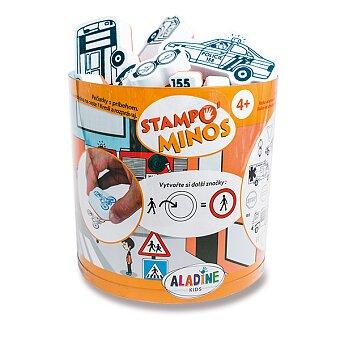 Obrázek produktu Razítka Aladine Stampo Minos - Dopravní prostředky - 28 ks