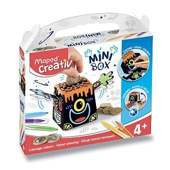 Obrázek produktu MiniBox Maped Creativ Sametové malování - pokladnička