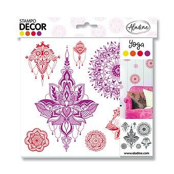 Obrázek produktu Razítka Aladine Stampo Decor - Jóga, 7 ks