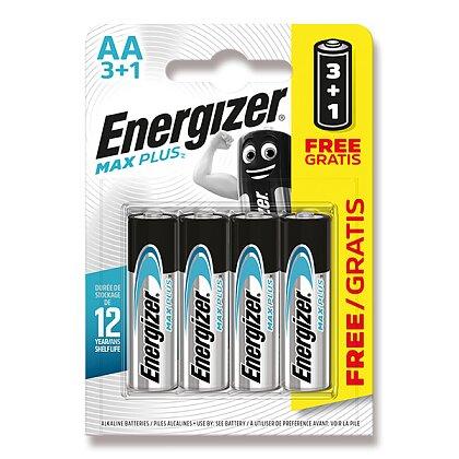 Obrázek produktu Energizer Max Plus - alkalická baterie - AA, 3+1 ks