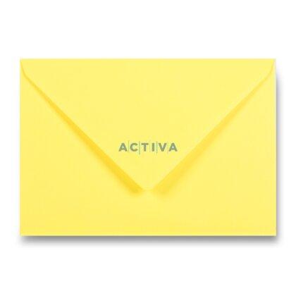 Obrázek produktu Clairefontaine - obálka - C5, samolepicí, 20 ks, tmavě žlutá