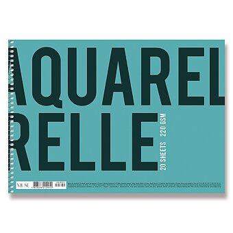 Obrázek produktu Skicák Shkolyaryk Aquarelle - A4, 20 listů