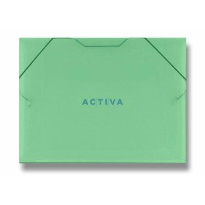 Obrázek produktu PP Transparent - 3chlopňové desky - A4, zelené