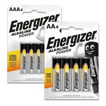 Obrázek produktu Alkalické baterie Energizer Power - 4 ks, AA nebo AAA