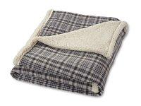 SOFT COMFORT - měkká deka s dárkovou stuhou, rozložená 123x152 cm