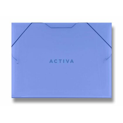 Product image PP transparent - folder with elastic holds