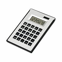 ZIGGY - kalkulačka s 8místným displejem s kul. perem a lep. papírky, výběr barev
