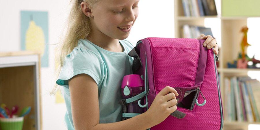 Svačinová termo taška s otevíráním na suchý zip a standardní zip
