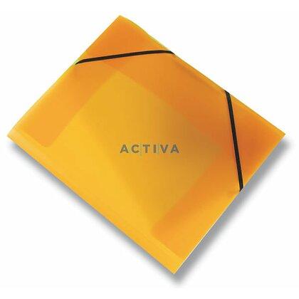 Obrázek produktu PP Opaline - 3chlopňové desky - oranžové