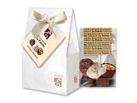 WHITE BOW - výběr belgických pralinek v dárkovém balení, 65 g