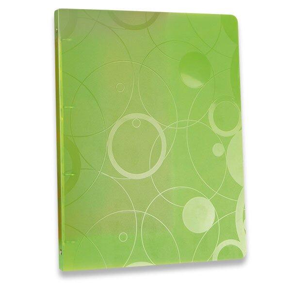 4kroužkový pořadač Neo Colori zelený
