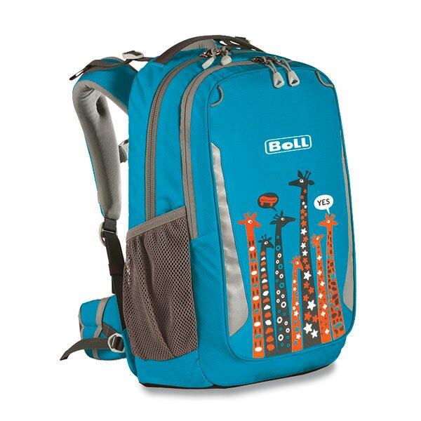 Školní batoh Boll Schoolmate Giraffe 18 l turquoise