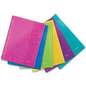 Obrázek produktu Závěsné kapsy na suchý zip Leitz Wow - A4, 6 ks, mix barev