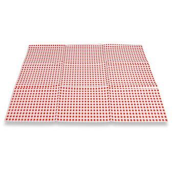 Obrázek produktu Igelit na lavici 65 x 50 cm - červené káro