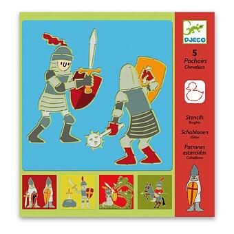 Obrázek produktu Šablony Djeco - Rytíři