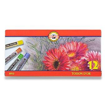Obrázek produktu Křídy prašné Koh-i-noor TOISON D´OR 8512 - 12 barev