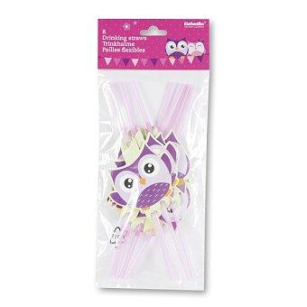 Obrázek produktu Brčka Happy Owl - 8 ks