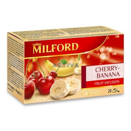 Obrázek produktu Milford - ovocný čaj - Třešeň, banán