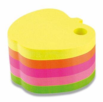 Obrázek produktu Poznámkový bloček Hopax Notes - jablko - 70 x 70 mm, 400 listů