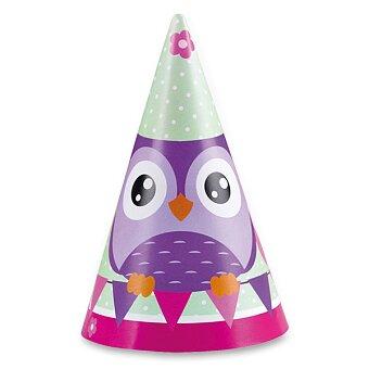 Obrázek produktu Kloboučky Happy Owl - 8 ks