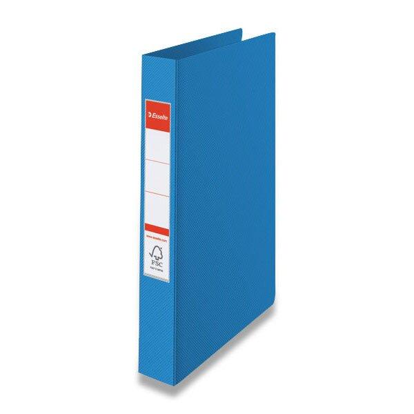 4kroužkový pořadač Esselte modrý